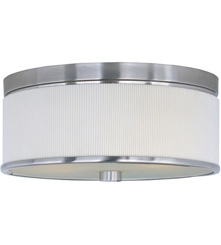 ET2 Elements 3 Light Flush Mount in Satin Nickel E95102-102SN photo