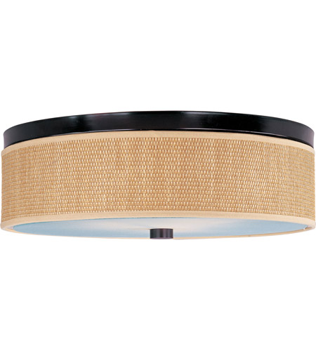 ET2 Elements 3 Light Flush Mount in Oil Rubbed Bronze E95104-101OI photo