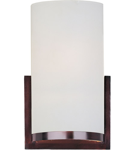 ET2 E95184-92OI Elements 1 Light 7 inch Oil Rubbed Bronze Wall Sconce Wall Light in Satin White photo