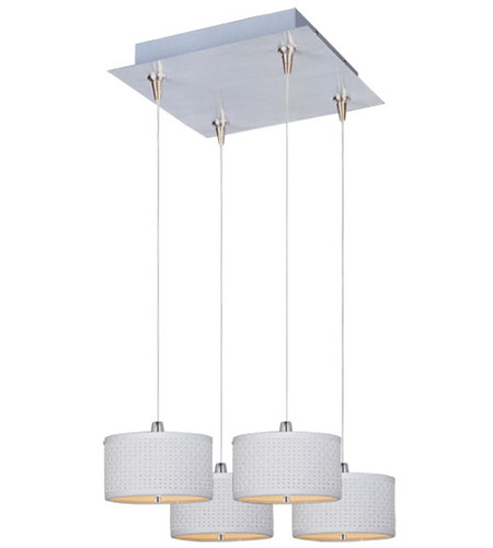 ET2 Elements 4 Light Pendant in Satin Nickel E95494-100SN photo