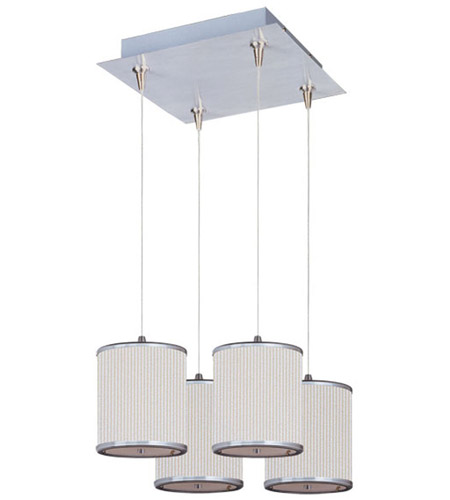 ET2 Elements 4 Light Pendant in Satin Nickel E95495-102SN photo