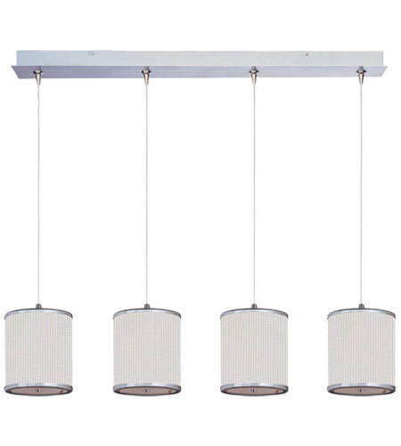 ET2 Elements 4 Light Linear Pendant in Satin Nickel E95499-102SN photo