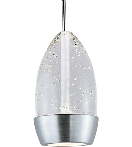 ET2 EP96309-91SN Luxe LED 4 inch Satin Nickel RapidJack Pendant Ceiling Light photo