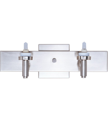 ET2 Carte 2 Light Wall Mount in Satin Nickel ES91192 photo