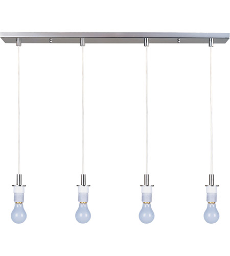 ET2 Carte 4 Light Pendant in Satin Nickel ES92104 photo