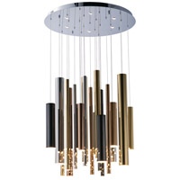 ET2 E10020-MPLT Flute LED 26 inch Multiple Pendant Light Multi-Light Pendant Ceiling Light