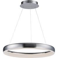 ET2 E10030-SN Innertube LED 24 inch Satin Nickel Single Pendant Ceiling Light