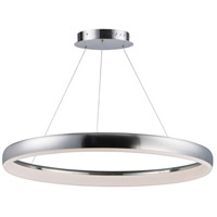 Satin Nickel Acrylic Innertube Pendants