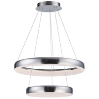 ET2 E10034-SN Innertube LED 24 inch Satin Nickel Multi-Light Pendant Ceiling Light
