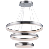 ET2 E10038-SN Innertube LED 32 inch Satin Nickel Multi-Light Pendant Ceiling Light