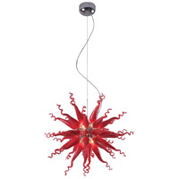ET2 Solara II 8 Light Pendant in Polished Chrome E20003-03 photo thumbnail