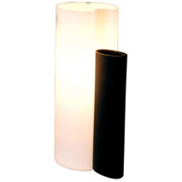 ET2 Amphora 1-Light Table Lamp in Black E20014-02 photo thumbnail