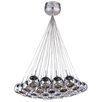 ET2 Starburst 37 Light Pendant in Satin Nickel and Polished Chrome E20112-81
