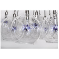 ET2 Starburst 19 Light Pendant in Satin Nickel and Polished Chrome E20113-21 alternative photo thumbnail