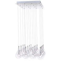 ET2 Larmes 16 Light Pendant in Polished Chrome E20117-18