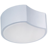 Cells LED 10 inch Matte White Flush Mount Ceiling Light