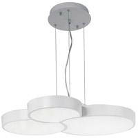Cells LED 21 inch Matte White Single Pendant Ceiling Light
