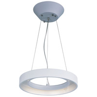 ET2 Lighting Apollo LED 1 Light Pendant in Matte White E20225-MW