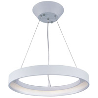 ET2 Lighting Apollo LED 1 Light Pendant in Matte White E20226-MW