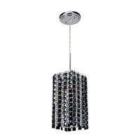 ET2 Black Ice 1 Light Pendant in Crystal E20231-20