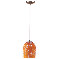 ET2 Graffiti 1-Light Mini Pendant in Satin Nickel E20252-05