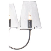 ET2 Chic 5 Light Chandelier in Polished Chrome E20292-10 alternative photo thumbnail