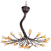 ET2 Evolution 20 Light Chandelier in Rustic Bronze E20300-26