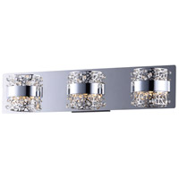 ET2 E20333-20PC Tiara LED 22 inch Polished Chrome Bath Vanity Wall Light