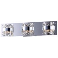 ET2 E20333-20PC Tiara LED 22 inch Polished Chrome Bath Vanity Wall Light