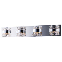 ET2 E20334-20PC Tiara LED 30 inch Polished Chrome Bath Vanity Wall Light