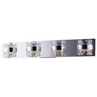 ET2 E20334-20PC Tiara LED 30 inch Polished Chrome Bath Vanity Wall Light