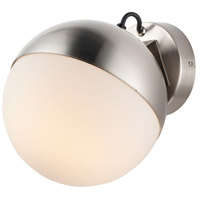 ET2 E20369-92SN Half Moon LED 8 inch Satin Nickel Wall Sconce Wall Light