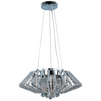 Zen 9 Light 20 inch Polished Chrome Pendant Ceiling Light