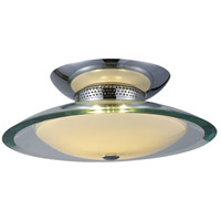 ET2 Curva 2 Light Flush Mount in Polished Chrome E20521-10