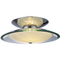 ET2 Curva 3 Light Flush Mount in Polished Chrome E20522-10