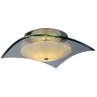 ET2 Curva 2 Light Flush Mount in Polished Chrome E20524-10