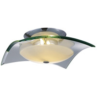 ET2 Curva 3 Light Flush Mount in Polished Chrome E20525-10