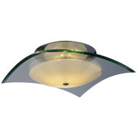ET2 Curva 1 Light Flush Mount in Polished Chrome E20526-10