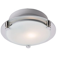 ET2 Piccolo 1 Light Wall Sconce in Satin Nickel and Polished Chrome E20533-09