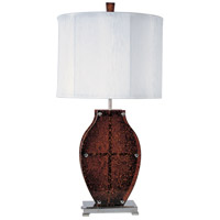 ET2 Honey 1 Light Table Lamp in Amber E20552-05