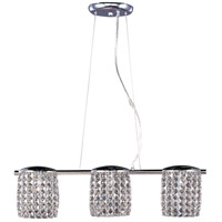 ET2 E20563-20PC Tartan 3 Light 5 inch Polished Chrome Pendant Ceiling Light