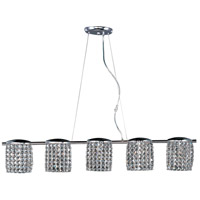 ET2 Tartan 5 Light Pendant in Polished Chrome E20565-20PC photo thumbnail