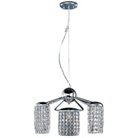 ET2 E20567-20PC Tartan 3 Light 20 inch Polished Chrome Pendant Ceiling Light