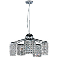 ET2 Tartan 5 Light Pendant in Polished Chrome E20568-20PC