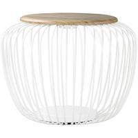 ET2 E20578-WTNW Cage 19 inch 7 watt White and Navaho White Floor Lamp Portable Light