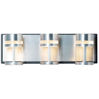 ET2 E20613-83BKAL Accord 3 Light 18 inch Black and Brushed Aluminum Bath Vanity Light Wall Light