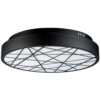 ET2 E20643-61BK Intersect LED 24 inch Black Flush Mount Ceiling Light