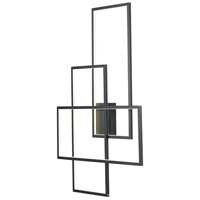 Converge LED 28 inch Black ADA Wall Sconce Wall Light