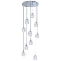 ET2 E20717-82PC Tangent LED 20 inch Polished Chrome Multi-Light Pendant Ceiling Light