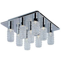 Polka LED 16 inch Polished Chrome Flush Mount Ceiling Light